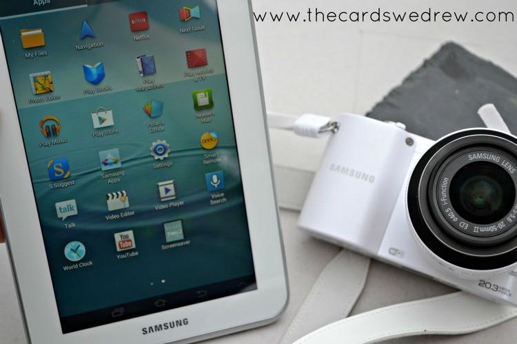 samsung tablet and camera bundle
