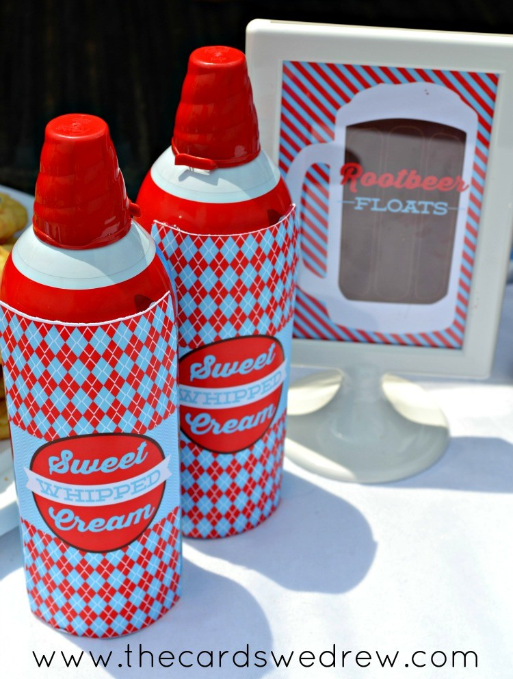 sweet whipped cream cans