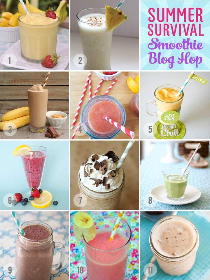 Summer Smoothie Blog Hop