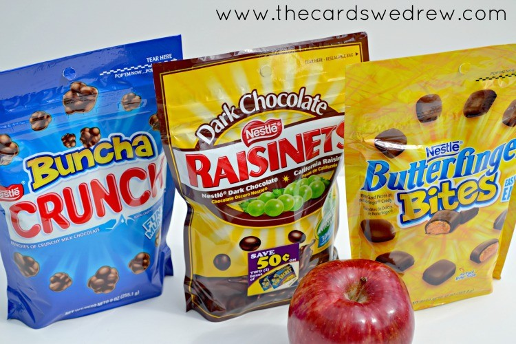 buncha crunch raisinets and butterfinger bites nestle snacks #shop