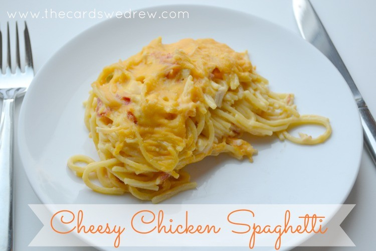 Recipe velveeta chicken spaghetti
