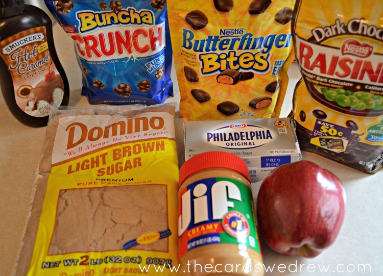preparing an after school apple nachos snack #shop