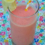Strawberry Banana Peach Smoothie and Blentec Giveaway!