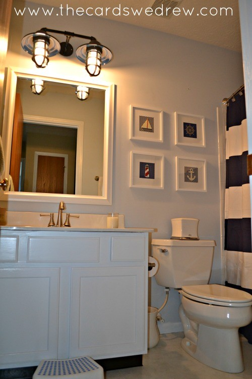 bathroom makeover 1