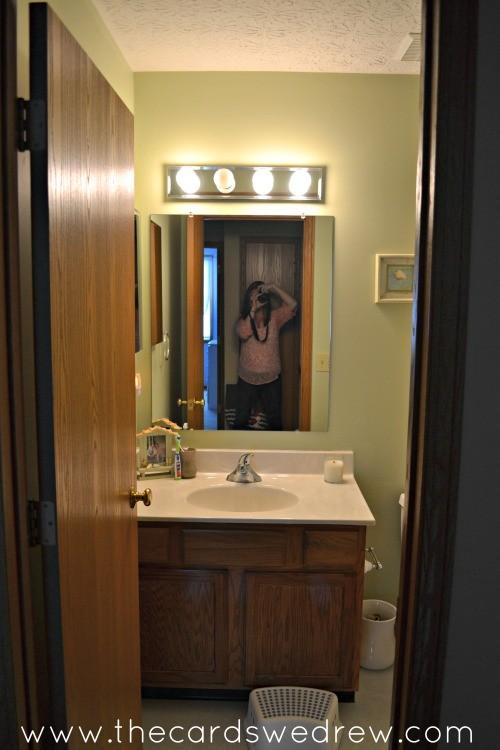 mesmerizing nautical bathroom makeover | Nautical Bathroom Makeover - The Cards We Drew