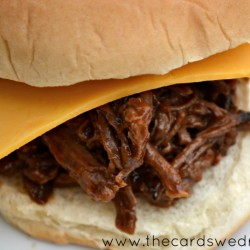 #kraftrecipemakers BBQ Beef Sandwiches for dinner