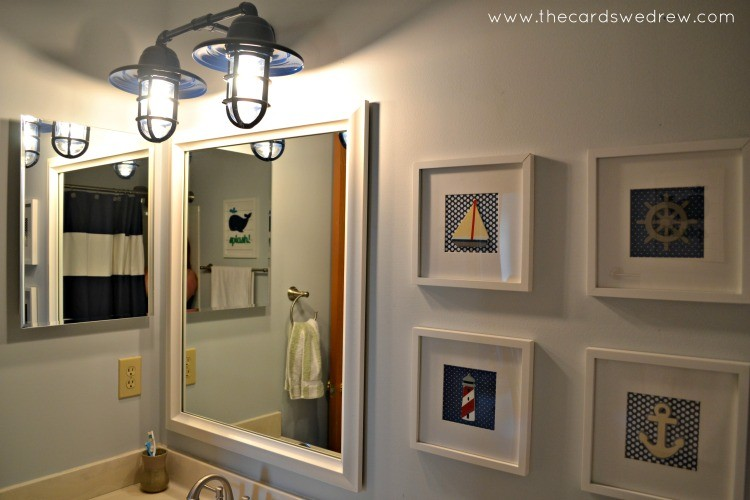 Nautical Bathroom Light Fixture