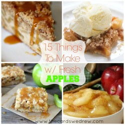 15 Things to Make with Fresh Apples