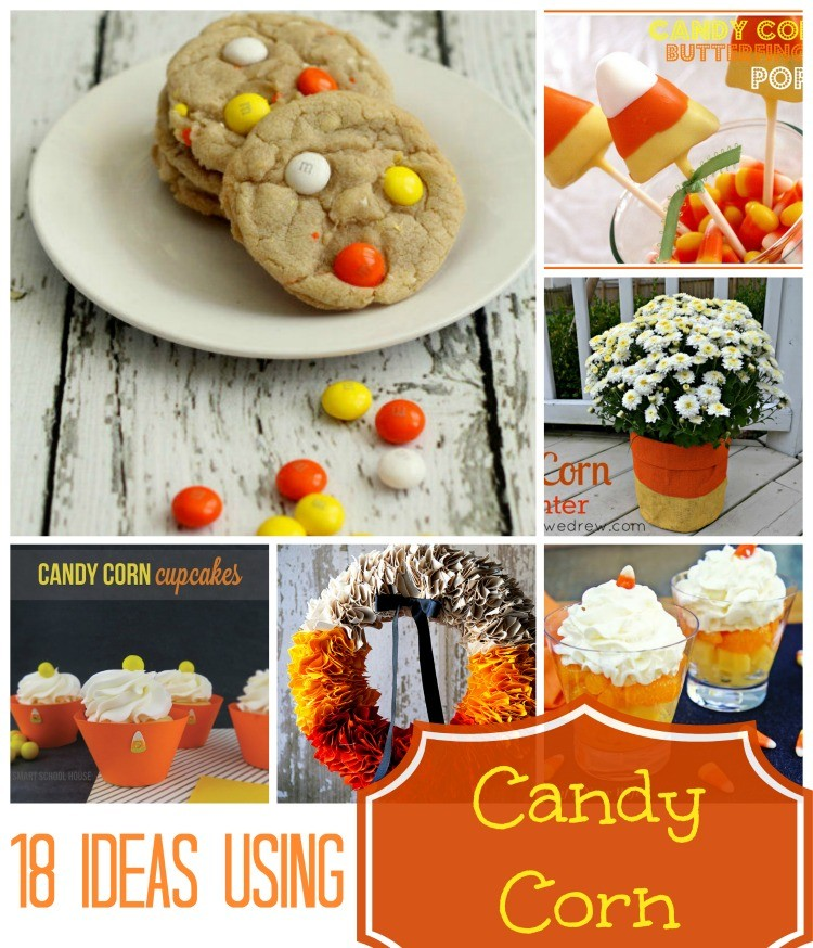 18 candy corn ideas
