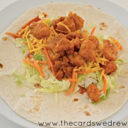add chicken to a wrap or just throw over lettuce for an easy salad #ad