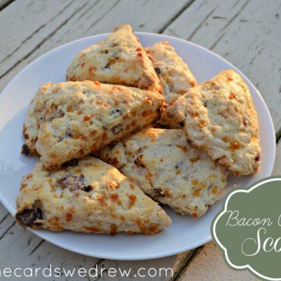 Bacon Cheddar Cheese Scone Recipe
