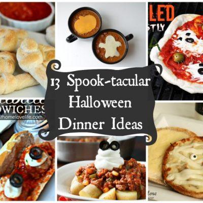 Last Minute Halloween Dinner Ideas