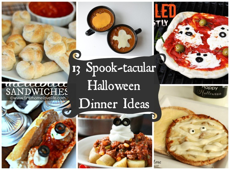 Last Minute Halloween Dinner Ideas - The Cards We Drew
