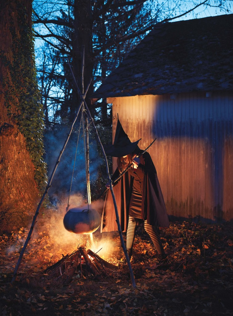 Photo by Lucas Allen. Courtesy of Martha Stewart Halloween Special Issue. Copyright ©2013.