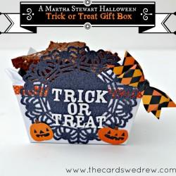 Martha Stewart Halloween Trick or Treat Gift Box