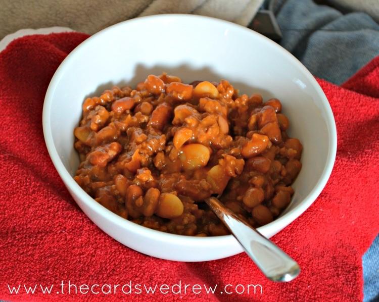 Yummy Cowboy Beans Meal