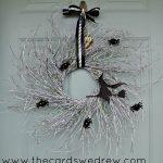 Glam Witch Halloween Wreath & Blog Hop + Martha Stewart Halloween Giveaway!