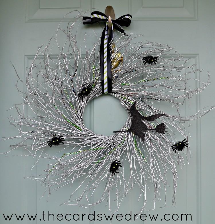 glam witch wreath
