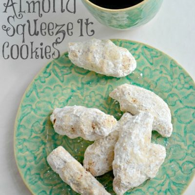 Almond Squeeze-It Cookies- Holiday Baking Recipe