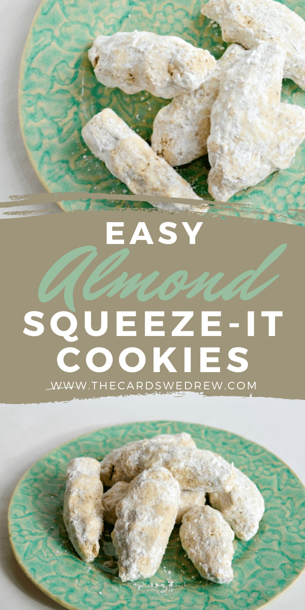 Easy Almond Squeeze-It Cookies