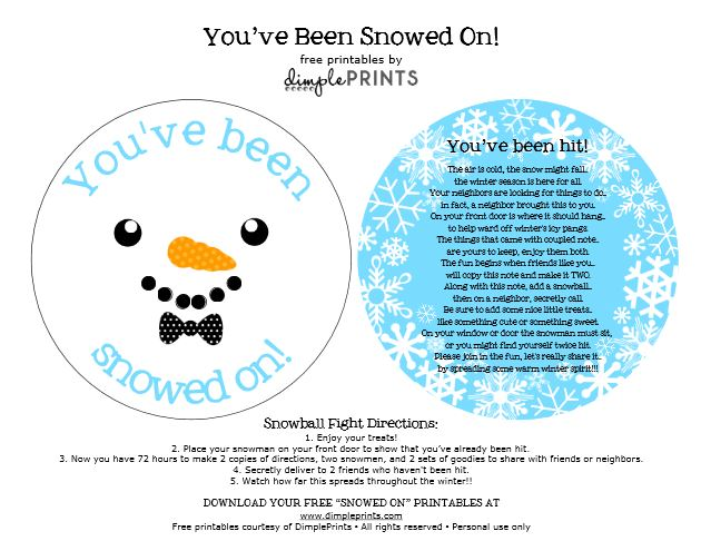 You've Been Snowed on Free Prints