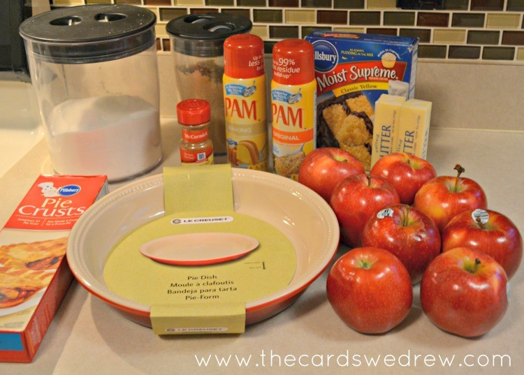 ingredients for pie