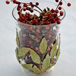 Easy Christmas Vase