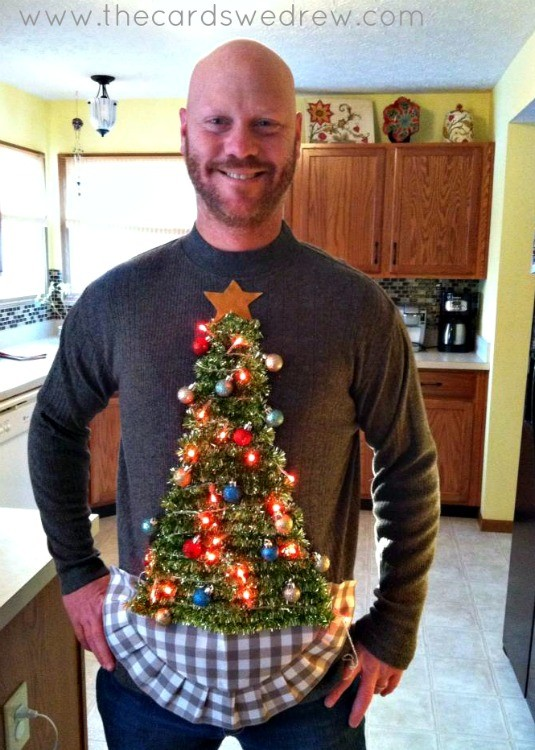 DIY Ugly Sweater for Men