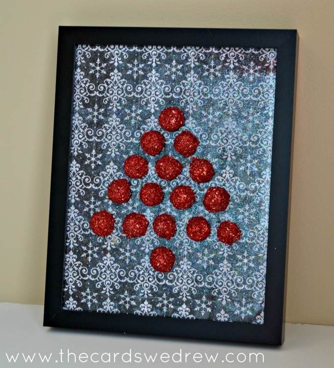FloraCraft Styrofoam Christmas Tree Art