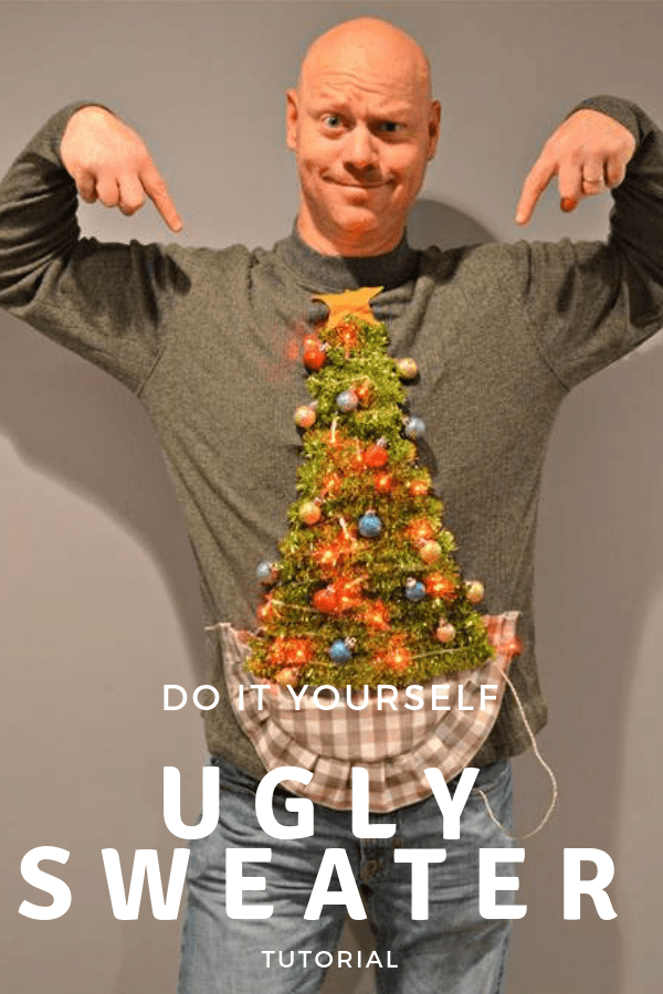 DIY Ugly Sweater tutorial