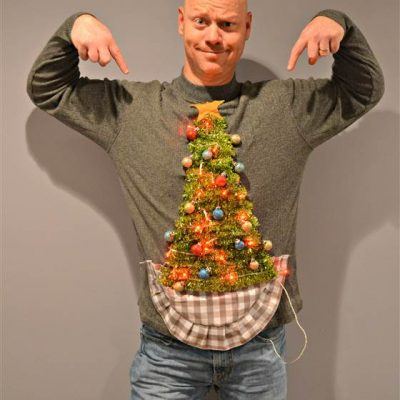 How to make a DIY Ugly Sweater