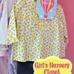 Girl's Nursery Closet Organizers {+9 other organizing & cleaning ideas} & Erin Condren Giveaway!