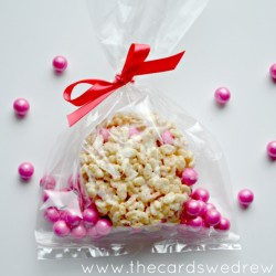 Easy Valentine's Day Rice Krispy Treats