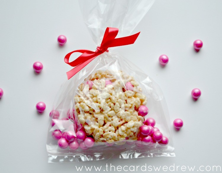 homemade rice krispy valentines day treats - Homemade Valentine Treats
