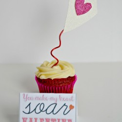 Valentine's Day Blog Hop: You Make My Heart Soar Valentine + Erin Condren Giveaway!