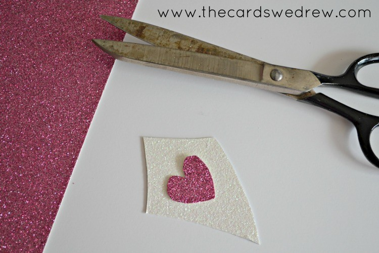 creating the kite and the heart