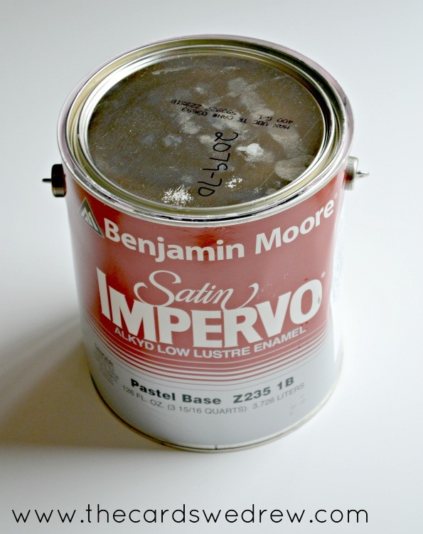 Benjamin Moore Satin Impervo Oil Based Paint