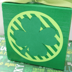 Easy Shamrock Block from GingerSnap Crafts