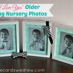 """I Love You"" Older Sibling Nursery Photos + Giveaway"