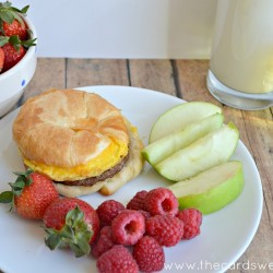 Jimmy Dean Breakfast Sandwich breakfast option