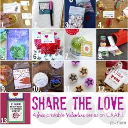 Share the Love: Valentine's Ideas