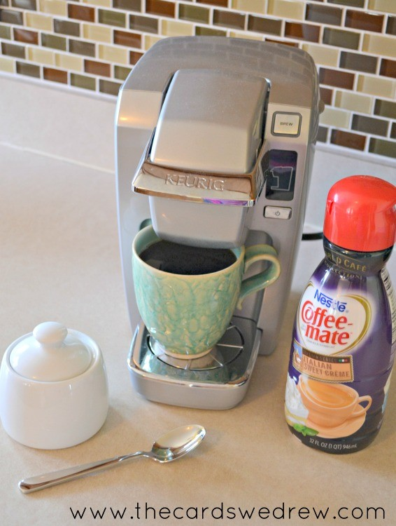 Coffee-mate creamer coffee