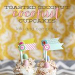 Toasted Coconut Cupcakes from Kiki and Co.
