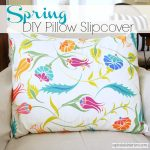 Spring Pillow Slipcover from Up to Date Interiors