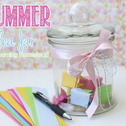 Summer Idea Jar from Blooming Homestead