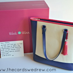 Wink and Winn personalized handbag giveaway