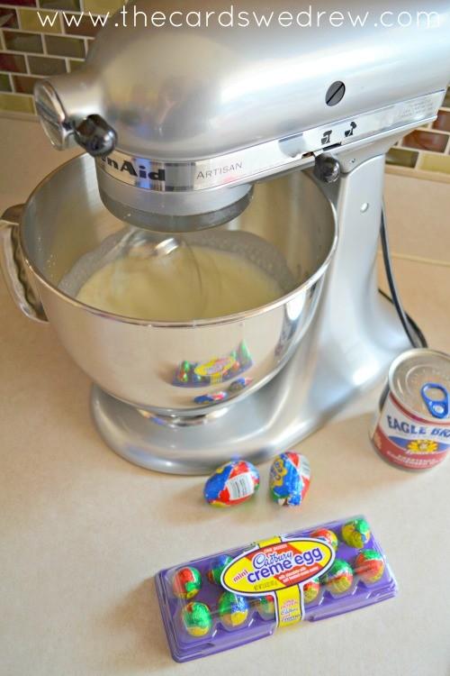 cadbury cream egg ice cream ingredients