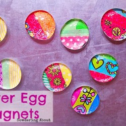 easter egg magnets