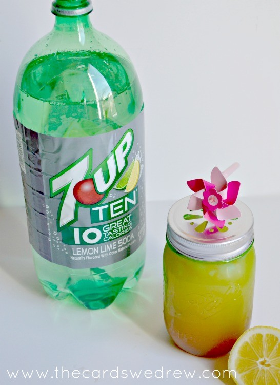 7UP Carribean Cooler Drink from The Cards We Drew