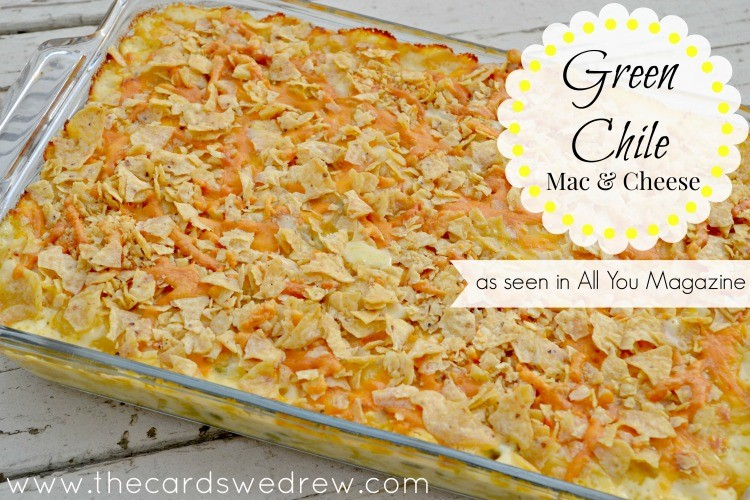 Green Chile Mac & Cheese as seen in All You Magazine
